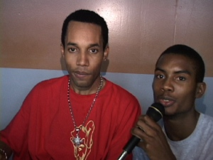Picture of Baby Cham with Kahlil Wonda