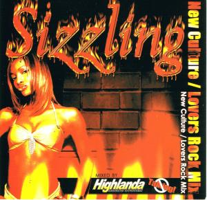 Sizzling CD cover
