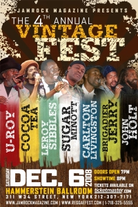 4th Annual Vintage Fest Poster