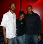 Kahlil Wonda with Kris & Akilah Richards