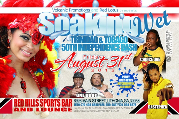 Soaking Wet Trinidad & Tobago 50th Independence Bash