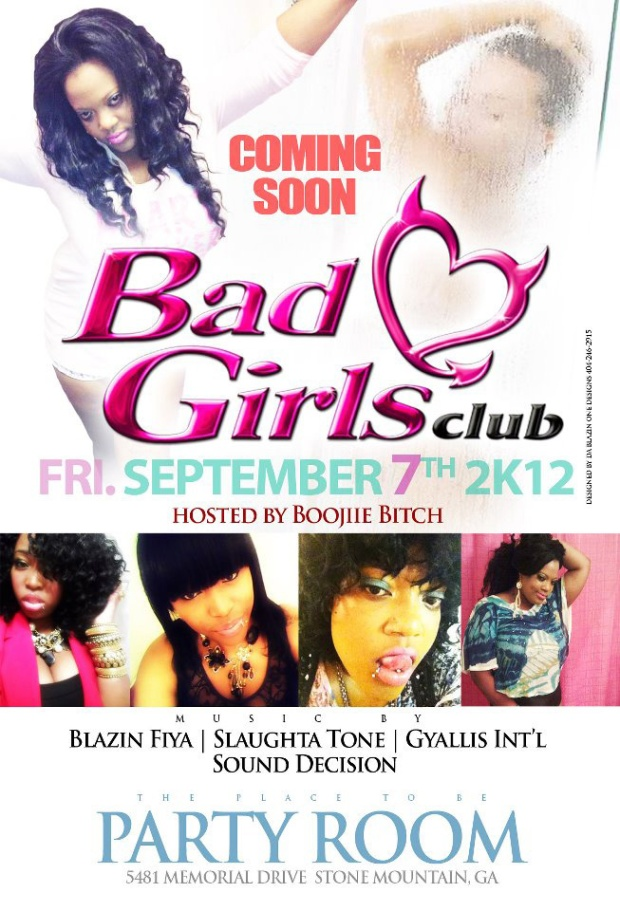 Dovey Magnum's Bad Girls Club e-flier