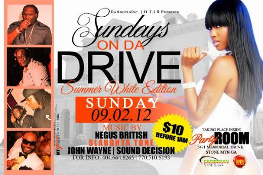 Sundays On Da Drive e-flyer
