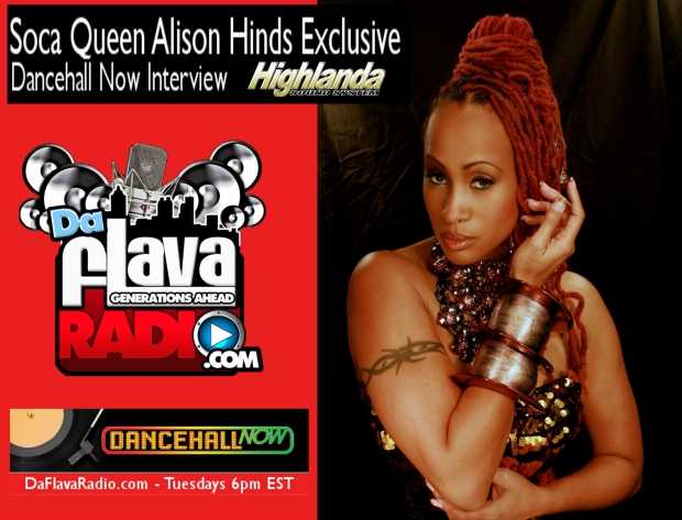 DANCEHALL NOW PODCAST EPISODE 64 WITH ALISON HINDS (2-12-13)