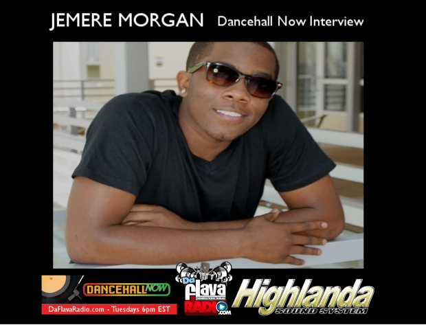 Jemere Morgan Dancehall Now Interview Image