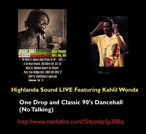 Highlanda Reggae Vault Classics Live