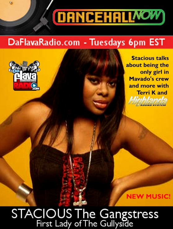 Terri K and Highlanda on The Dancehall Now Show interviewing Stacious