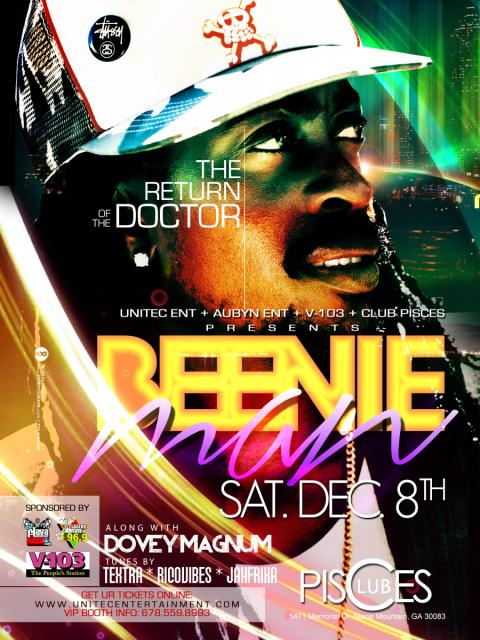 Beenie Man 2012 ATL Concert