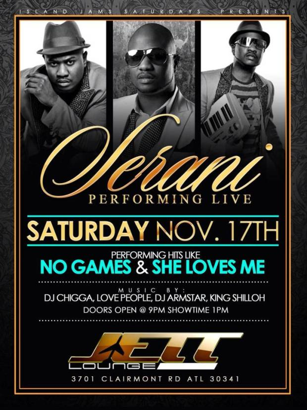 Serani Performing Live at Jett Lounge in Atlanta