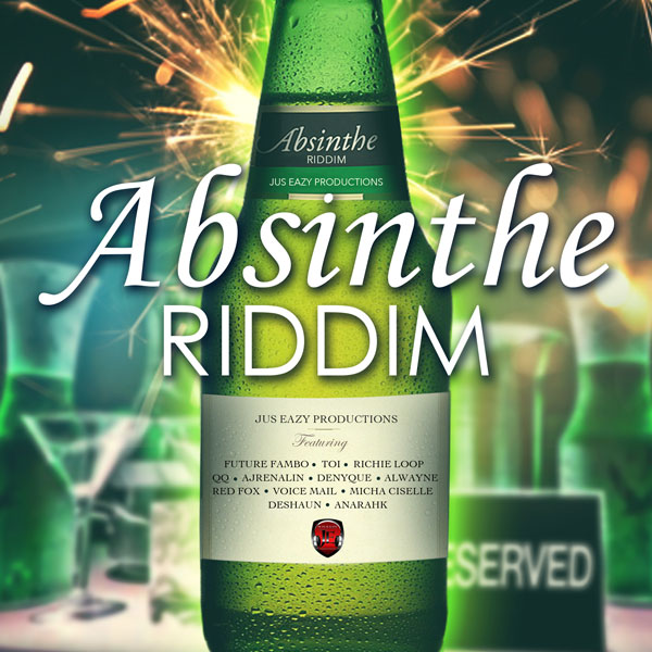 New Absinthe Riddim Album artwork