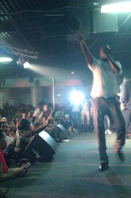 Beenie Man on stage