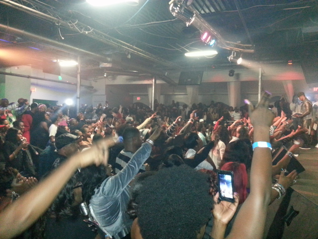 Atlanta crowd for Beenie 2012