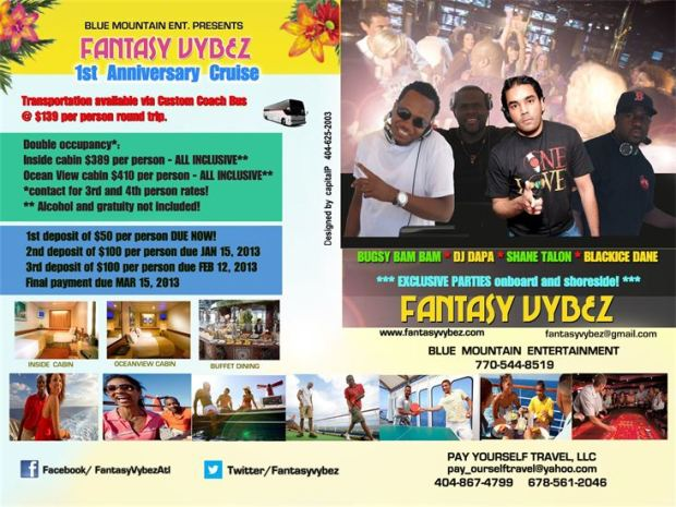 Party Cruise Info