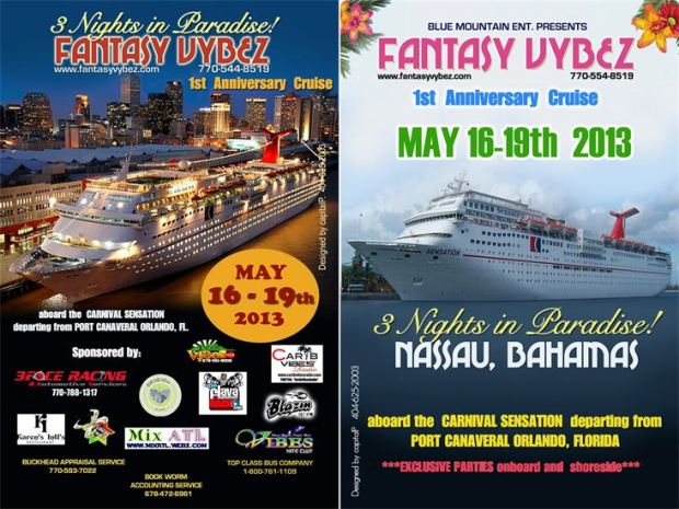 FANTASY VYBEZ Party Cruise