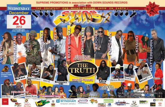 Sting 2012 Poster