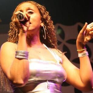 Famed Jamaican reggae singer Nadine Sutherland