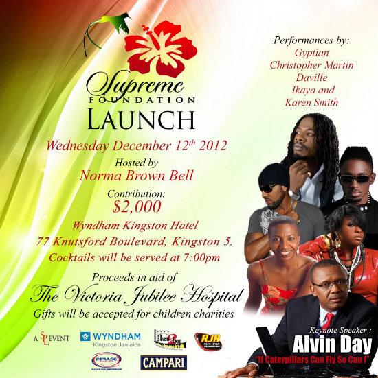 Supreme Foundation Launch Event Ad
