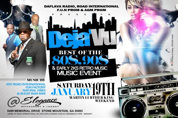 Deja'Vu - Best of The 80s, 90s, and early 2000's Retro Music Event