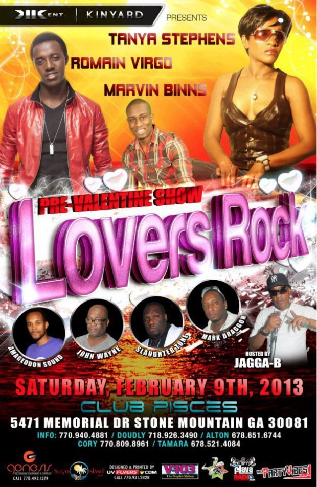 Lovers Rock - Tanya Stephens with Romain Virgo