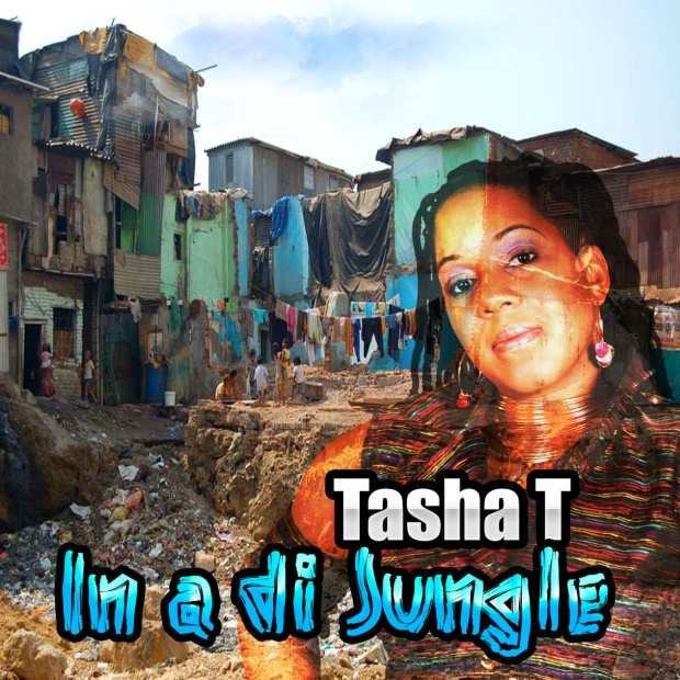Tasha T In a di Jungle CD Cover