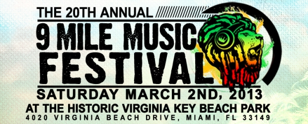 20th Annual 9 Mile Music Festival feat. Mavado, Konshens, Machel & More