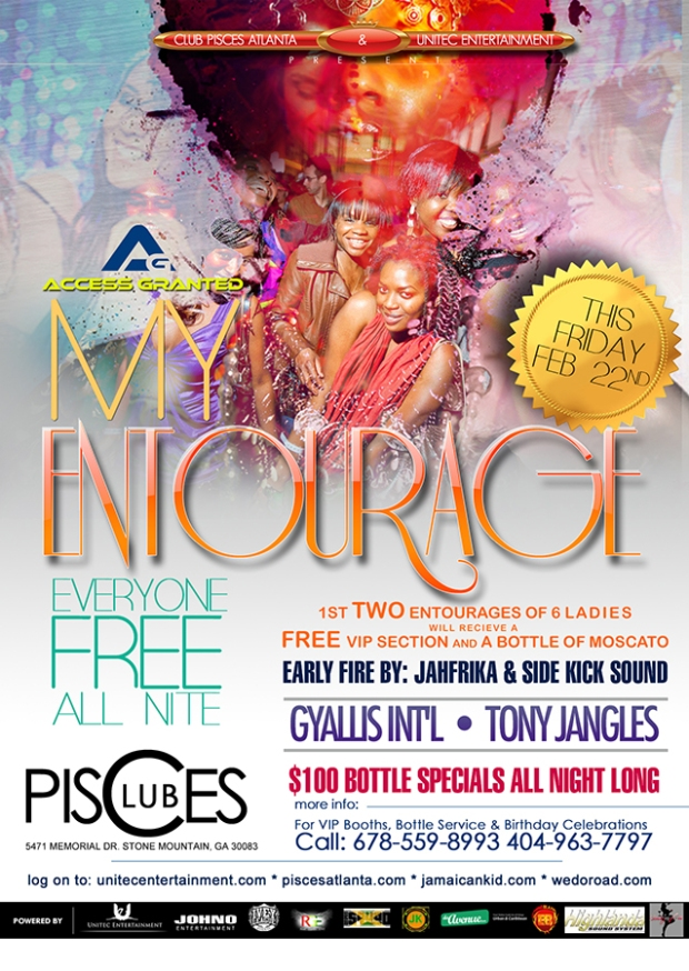 Access Granted 'My Entourage' This Friday at Club Pisces
