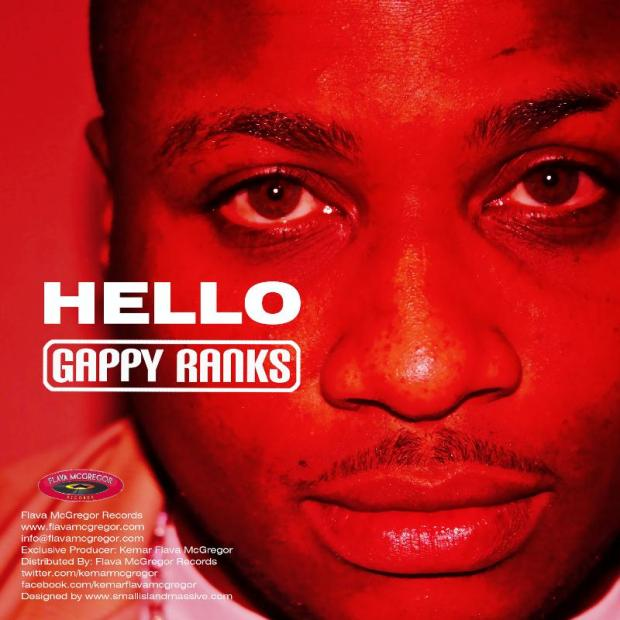 """Famed UK reggae singer Gappy Ranks released his new EP, """"Hello,"""" Tuesday, January 29, 2013 on iTunes"""
