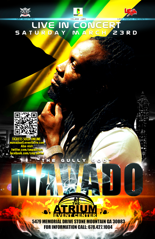 Mavado Live in Concert at The Atrium Event Center