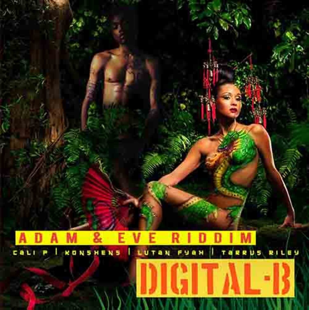 "VPAL Music / Digital B Productions presents the ""Adam & Eve Riddim,"" produced by the legendary Bobby ""Digital B"" Dixon. This was a 2007 Riddim and featured Cali P's first single titled ""Send Praises"". This project also features accomplished artists like Konshens and Lutan Fyah. Available for digital download on March 26th 2013."