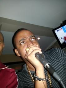 Dre hosting CLIMAX at Fins, downtown Atlanta
