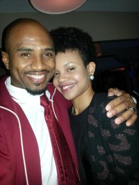 SuperPEC and Terri K, hosts of Dancehall Now