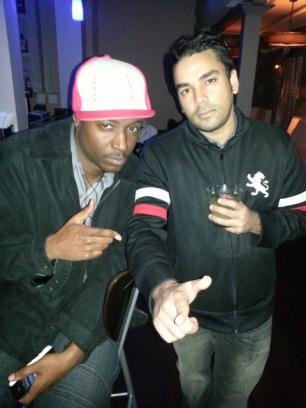 Jah Prince with DJ Shane Talon