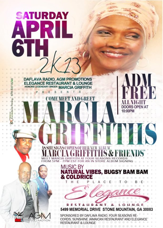 Marcia Griffiths at Elegance