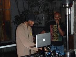 DJ Tedrostarr of Uprising Sound with Super PEC of Highlanda