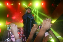 Maxi Priest brings reggae to the fans at Stage 48 in Manhattan, on March 31, 2013. Photography by Clyde Belcon