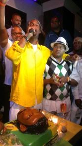 Capone with Father Melo