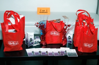 Gifts from the sponsors