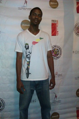 Kahlil Wonda of Highlanda Sound on the Red Carpet at 2013 CARIBBEAN AMERICAN MOVERS AND SHAKERS NETWORKING SERIES in Atlanta