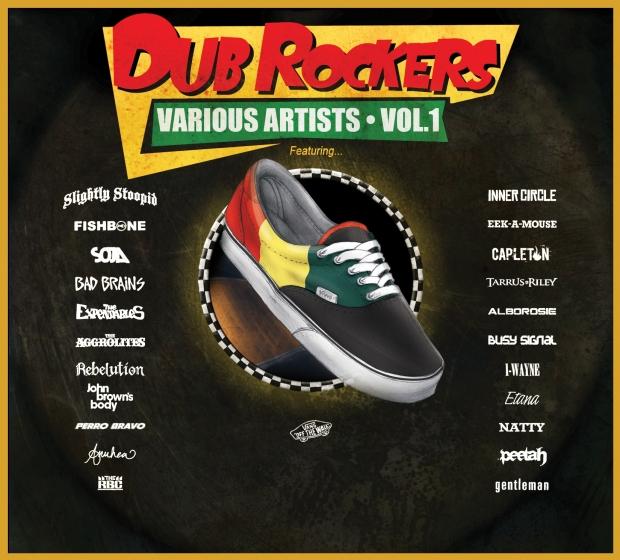 Various Artists - Dub Rockers - Artwork