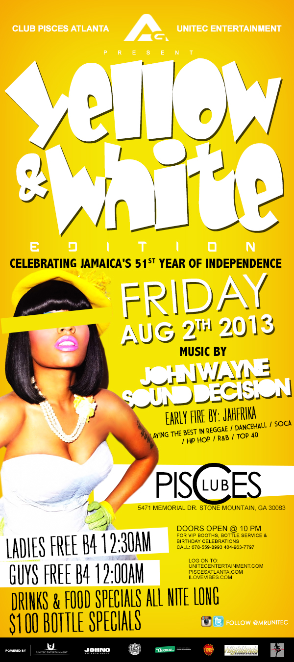 Access Granted - Yellow & White Edition - Jamaica's 51st Independence Celebration.