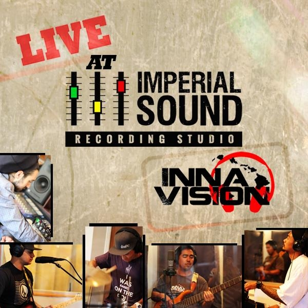 Inna Vision - Live At Imperial Sound Recording Studio - Artwork