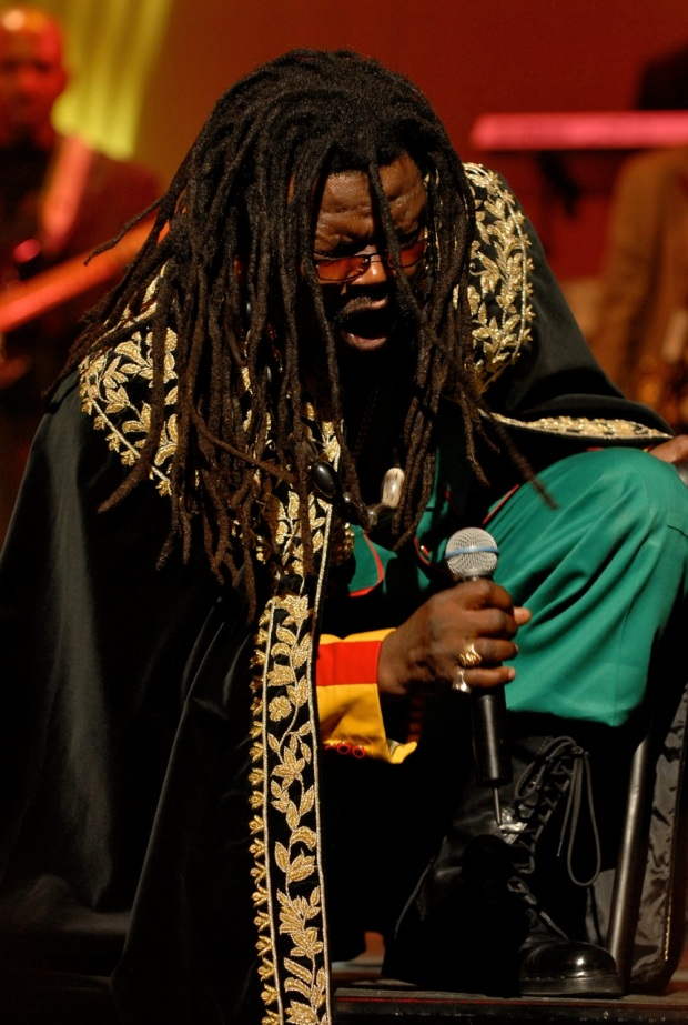 Reggae singer  Luciano with 2 new singles from The Quabalah Man album