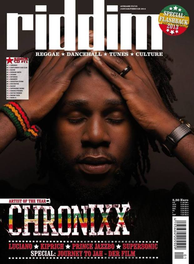chronixx artist of the year