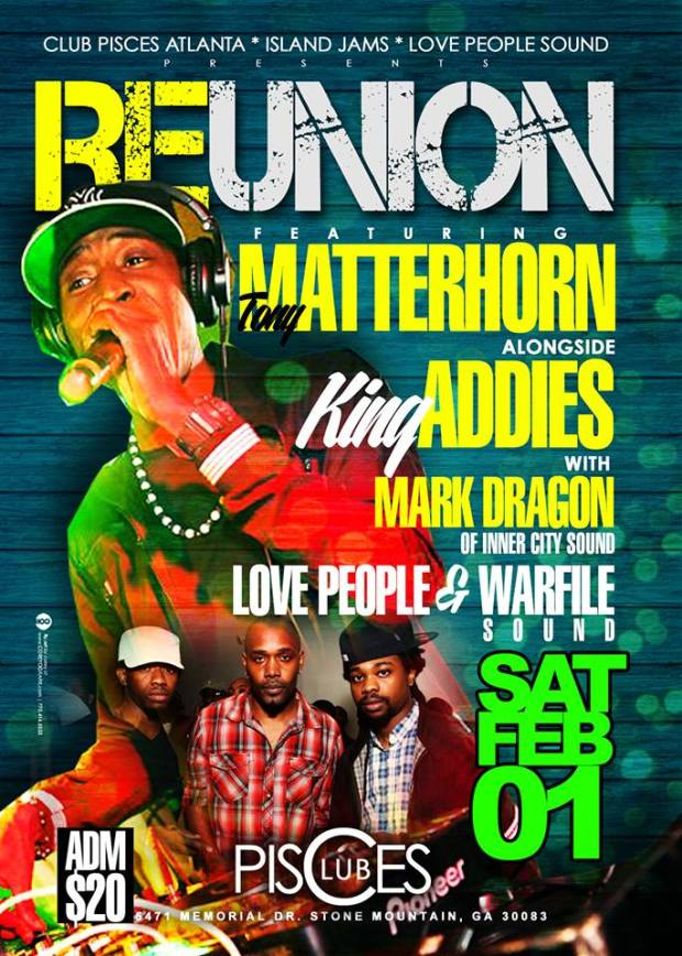 Tony Matterhorn alongside King Addies