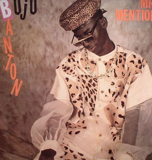 Buju Banton - Mr Mention album cover for Buju's 1992 debut album.