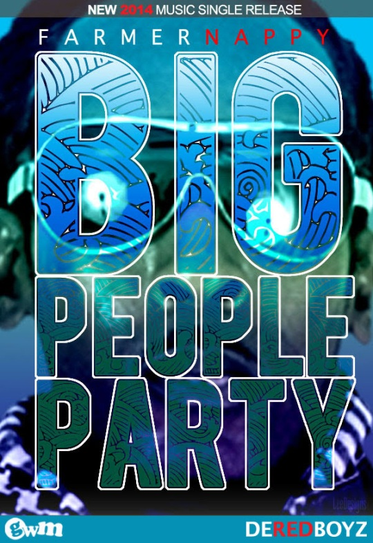 artwork for Famer Nappy's new album Big People Party