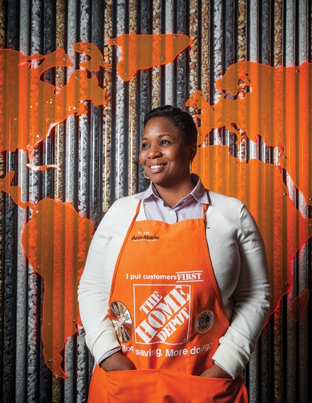 Southern Division President of Home Depot Ms. Ann-Marie Campbell