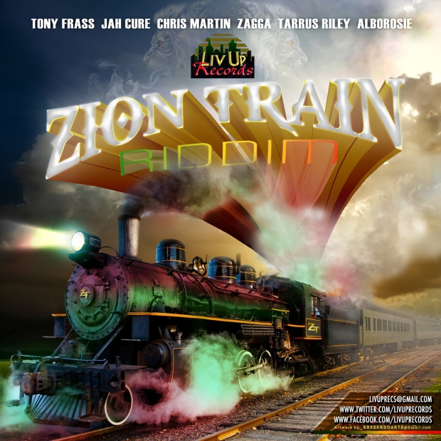 Check out the new Zion Train Riddim by Livity Records. Download the riddim now!  Tracks Feature: Tarrus Riley Christopher Martin Alborosie Jah Cure Zagga Tony Frass