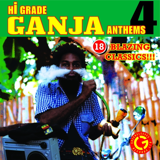 Various Artists - Hi Grade Ganja Anthems 4 - Artwork