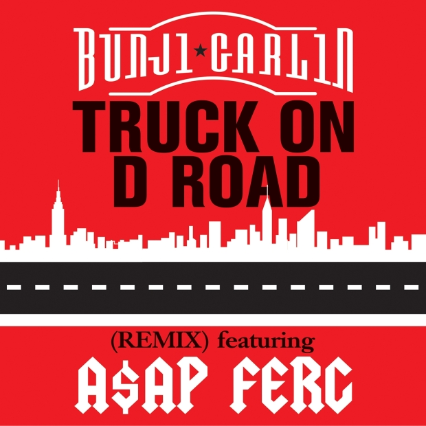 Bunji Garlin - Truck On D Road - Artwork